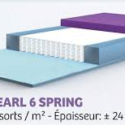 gelpearl spring 6 160x200cm