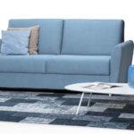 canapé-lit mécanique 2 plis